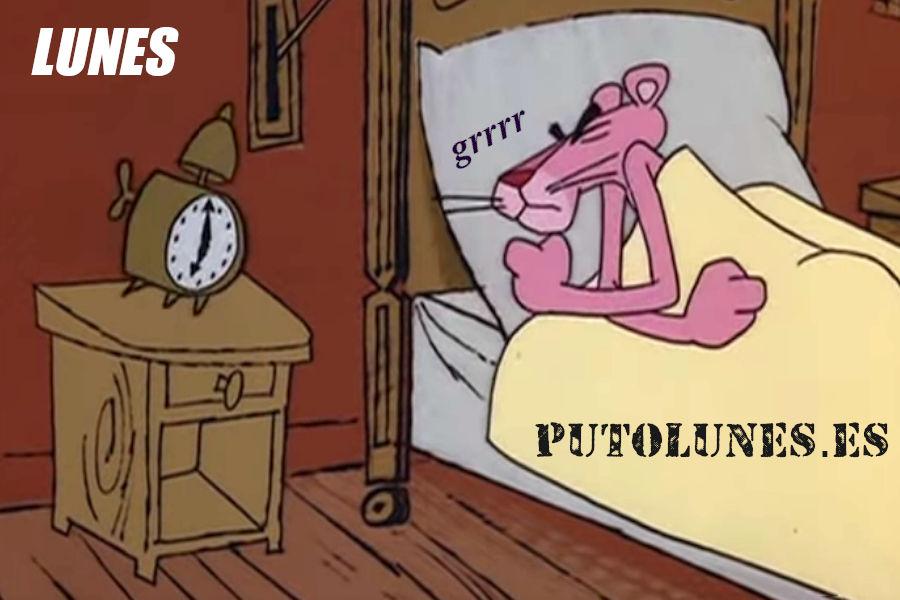 Despertar de la cama un lunes…