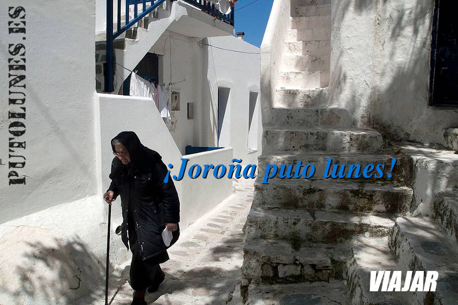 Nos vamos a Grecia, Mykonos.
