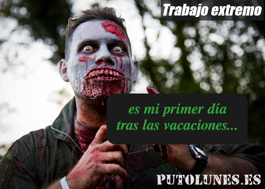 Septiembre zombie.