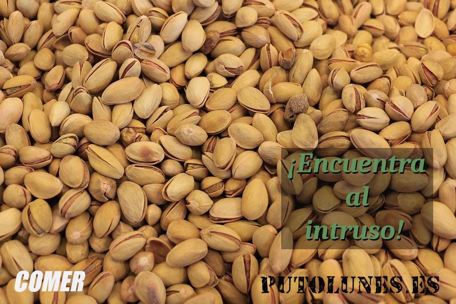 Nutrición: los frutos secos (pistachos).