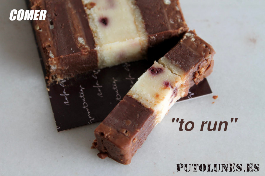 putolunes | comer | turrón o to run