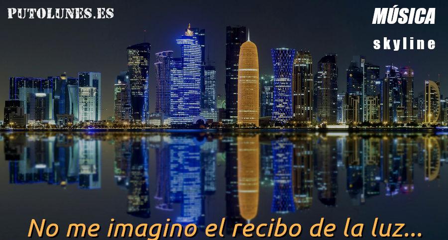 putolunes.es | música skyline - Doha skyline
