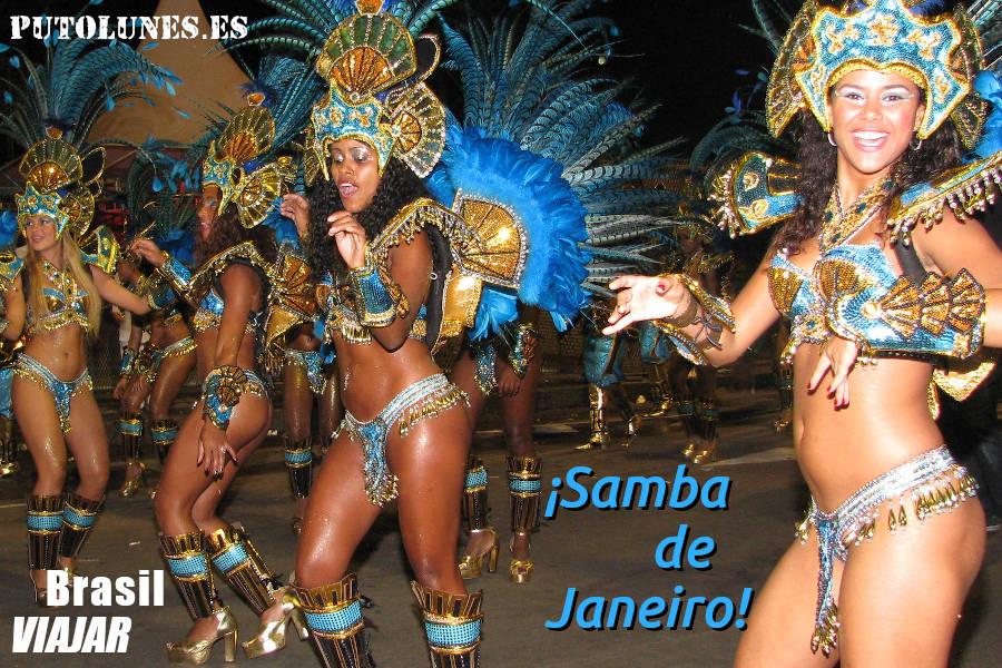 ¡Vámonos de carnaval a Río!