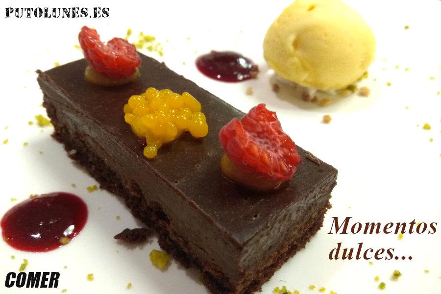 putolunes - comer - brownie - momentos dulces