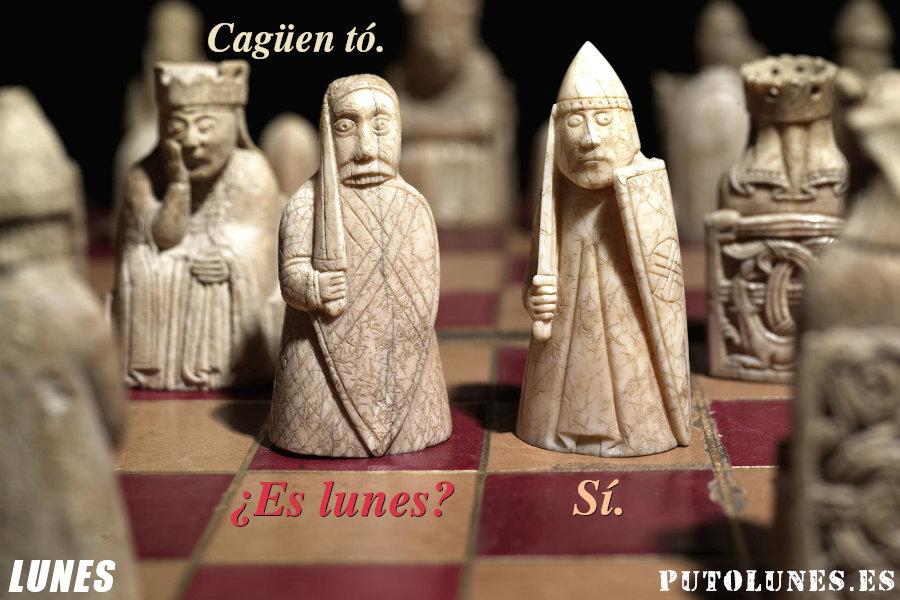 Lunes de ajedrez.