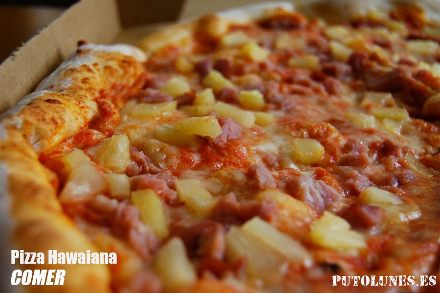 putolunes.es | comer - pizza hawaiana