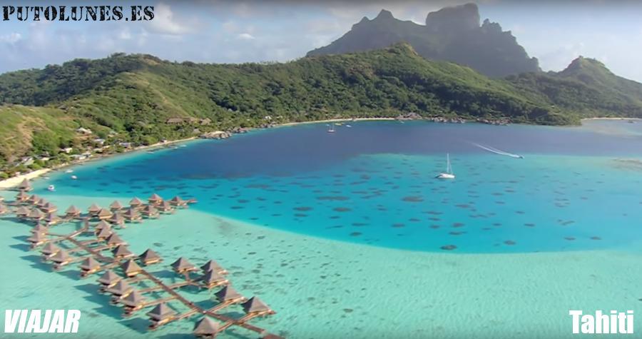 Hoy, viajamos virtualmente a Tahiti.