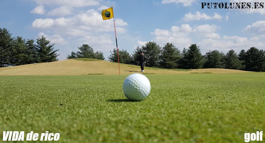 Vida de ricos: el golf.