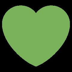 Corazón verde.