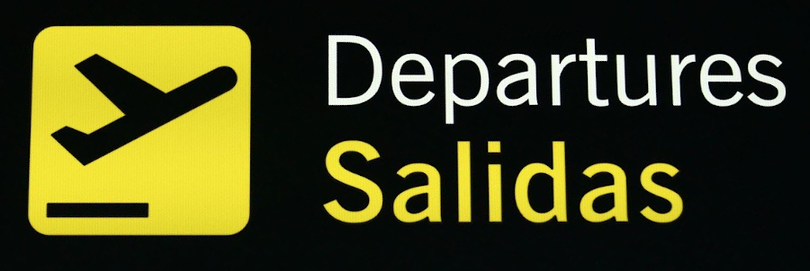 Departures Salidas