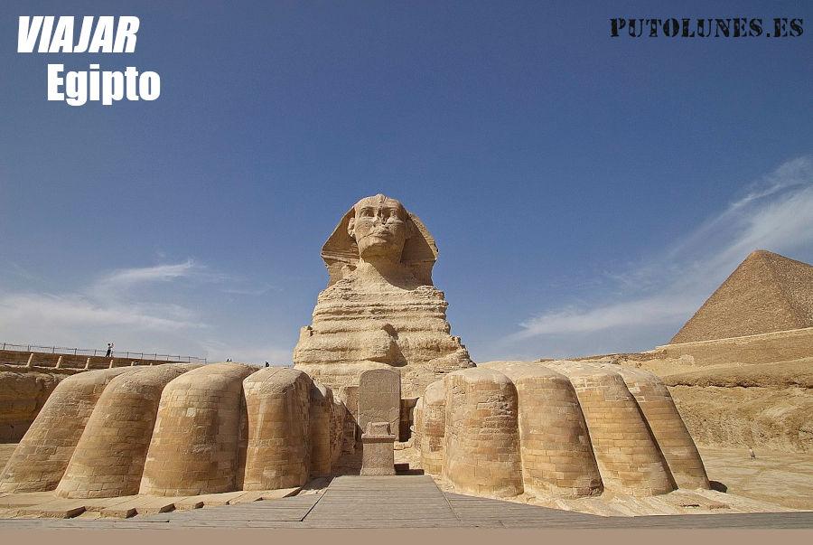 Viaje virtual: Esfinge de Giza.