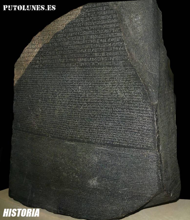 British Museum: la piedra de Rosetta.