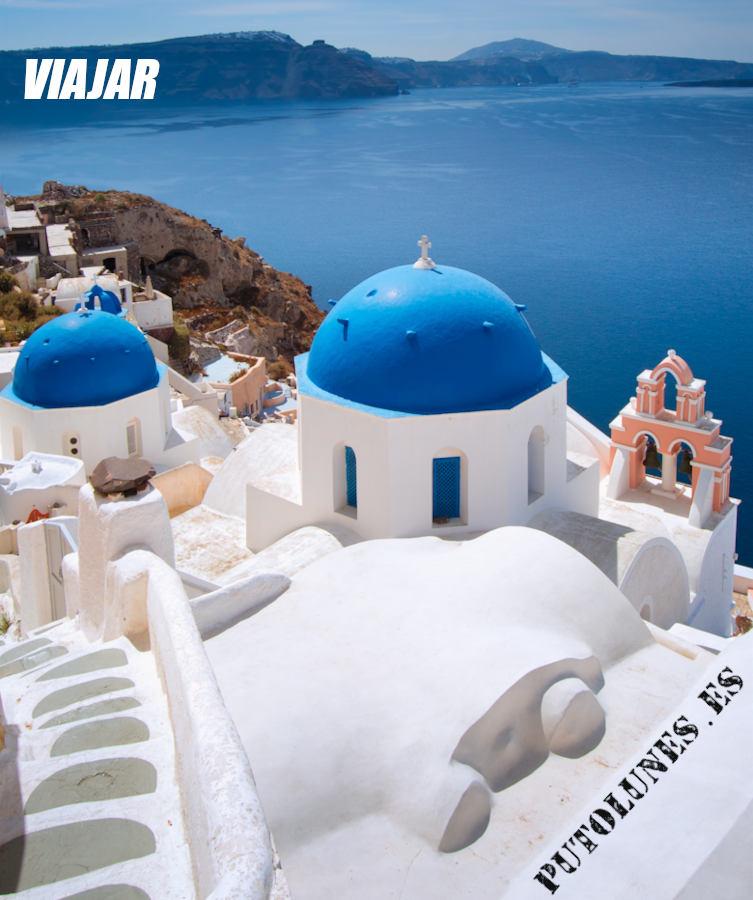 Viaje virtual: Santorini