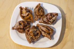 Marruecos. Pastas árabes. Chabakias