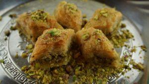 Pastas árabes. Baklavas.
