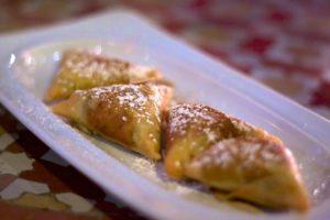 Marruecos. Pastas árabes. Briouats.