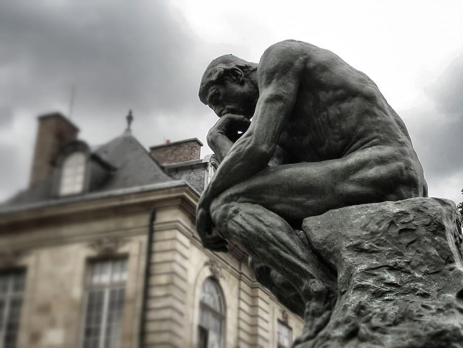 putolunes | Rodin - El pensador. Reflexión de lunes.