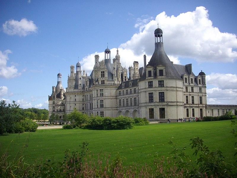 Château de Chambord. Palacio de Chambord en la región del Loira, Francia.