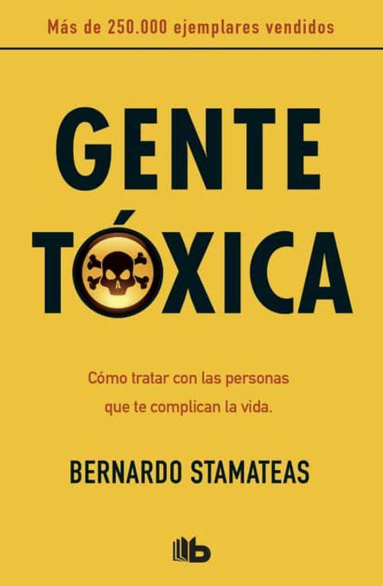 Gente tóxica. Libro.
