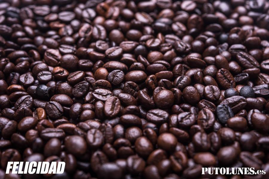 Pastilla de felicidad: el café